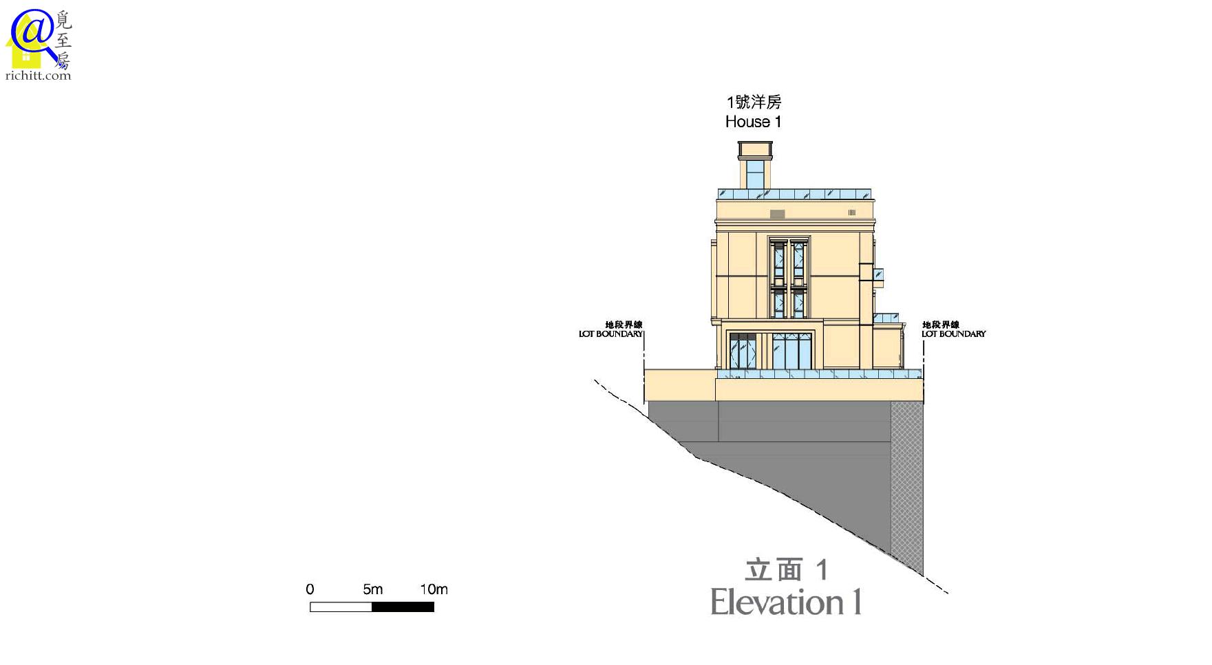 白加道28號立面圖1