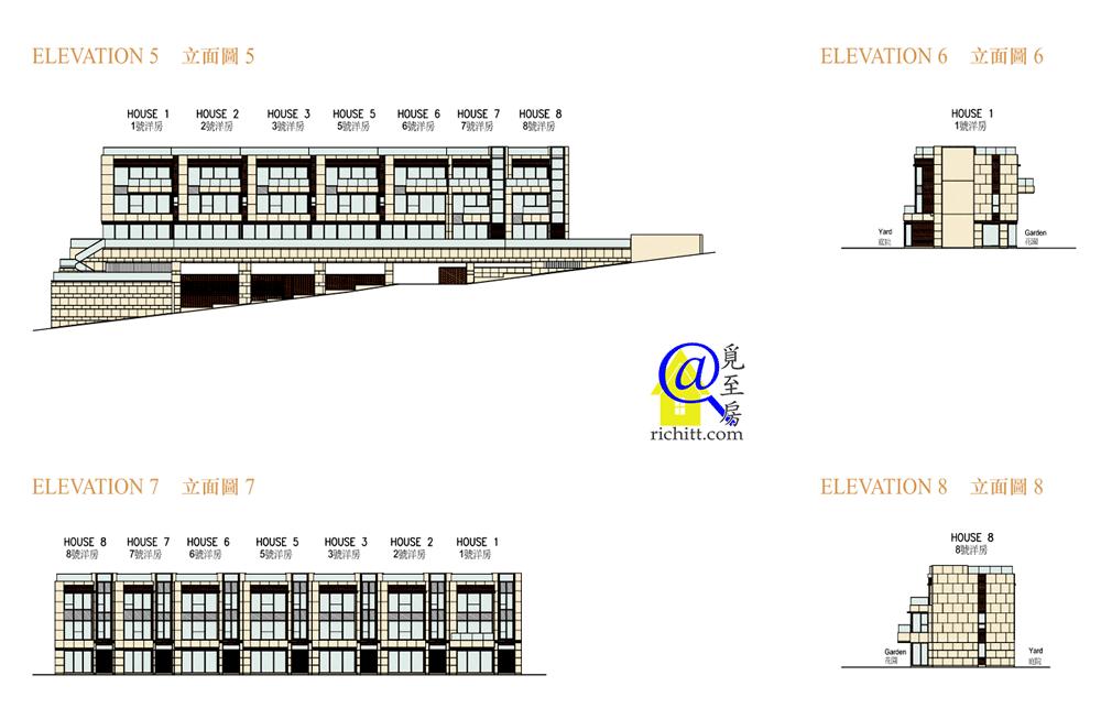 星岸立面圖5-8