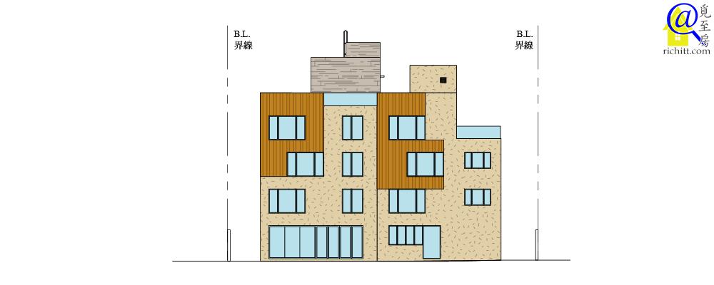喇沙滙立面圖2