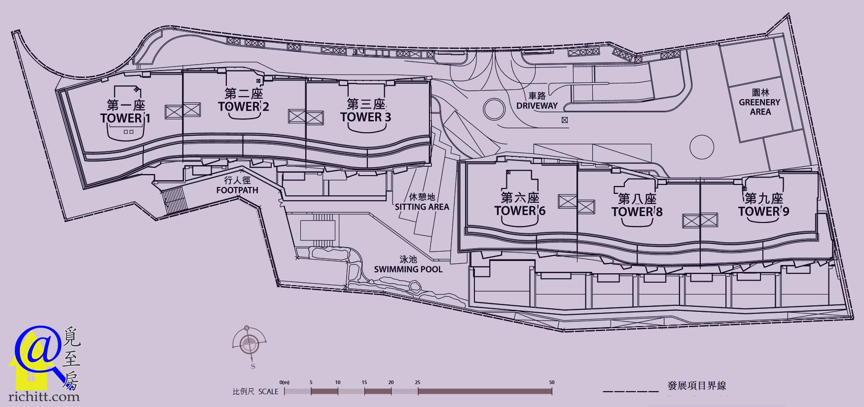 深灣9號布局圖