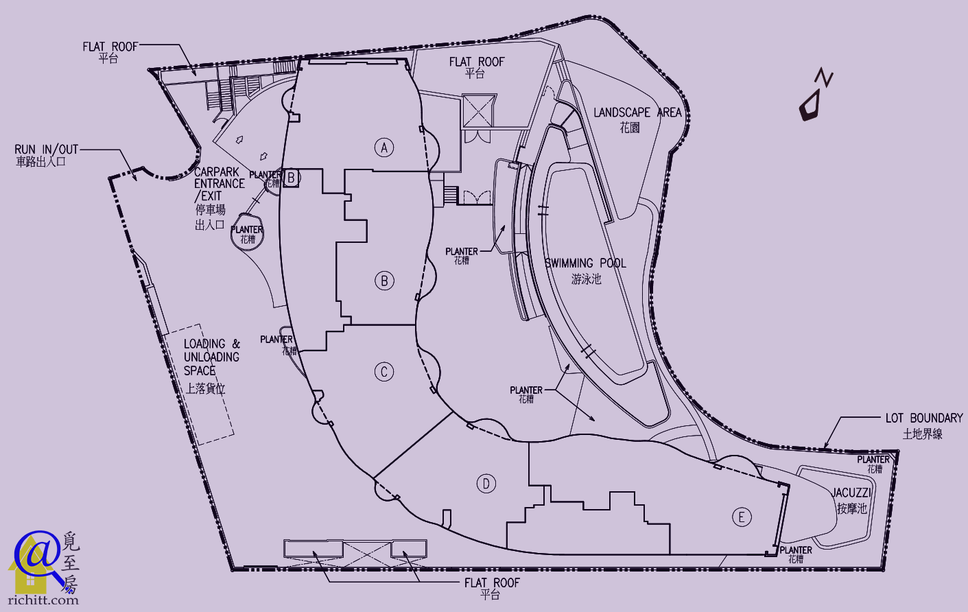 MOUNT PARKER RESIDENCES 布局圖
