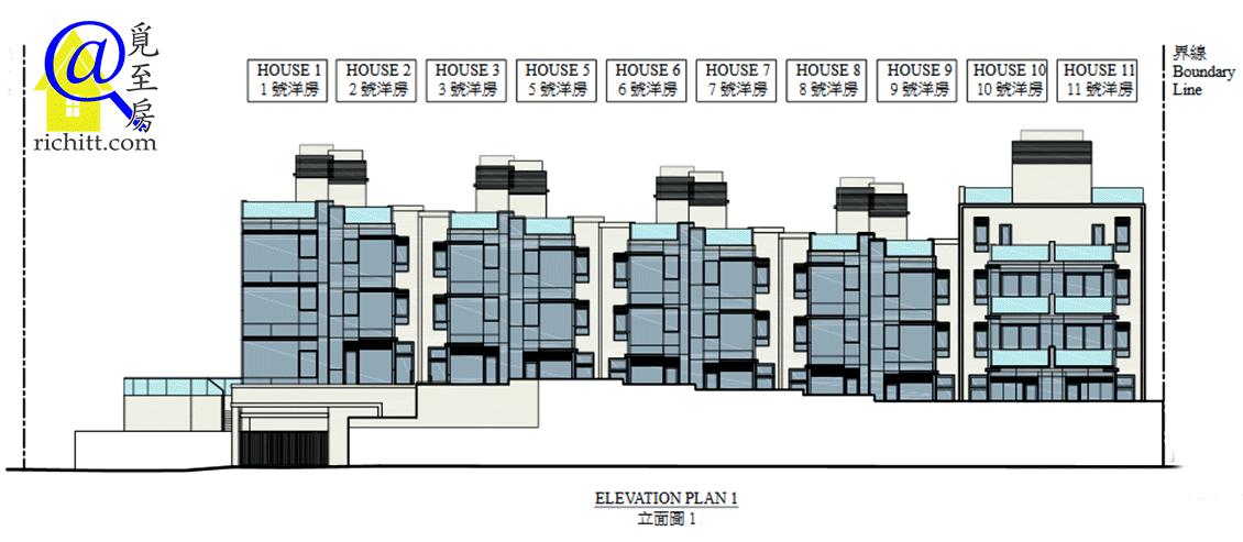 海棠路62號立面圖1