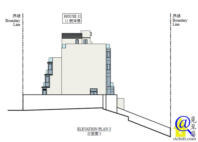 海棠路62號立面圖3