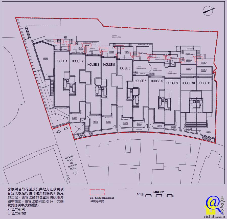 海棠路62號布局圖