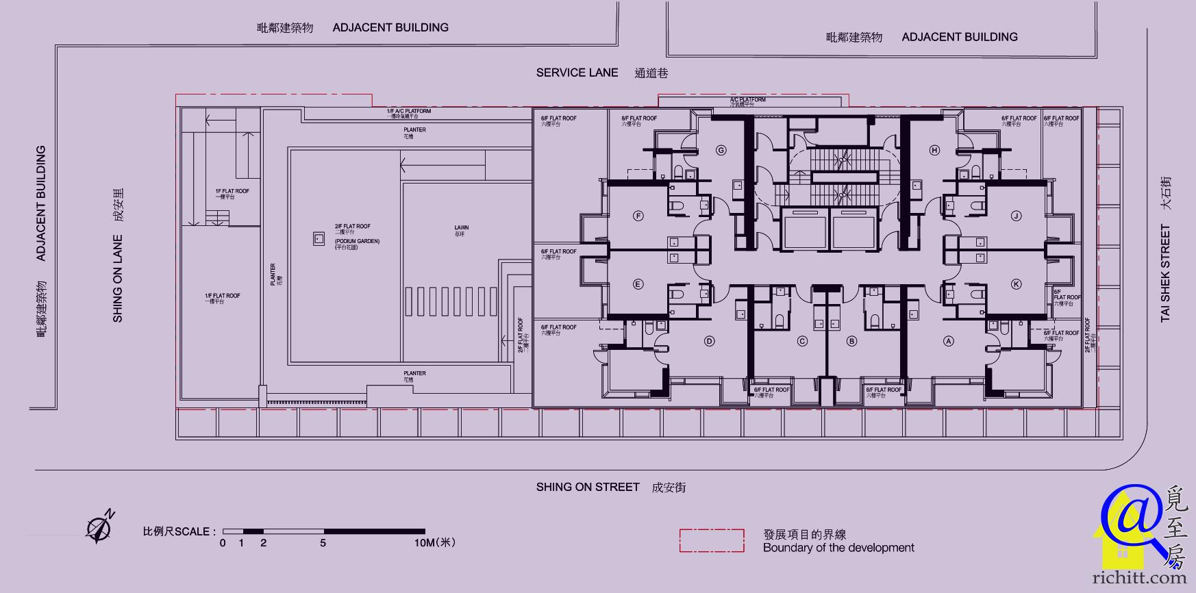 柏匯布局圖