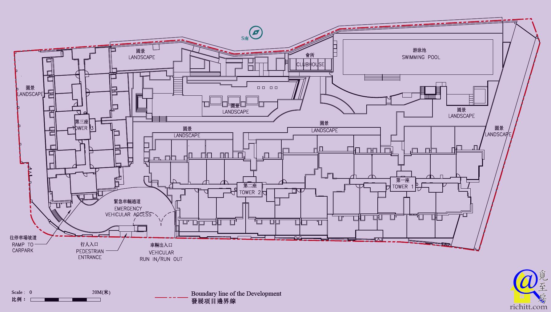 逸瓏海滙布局圖
