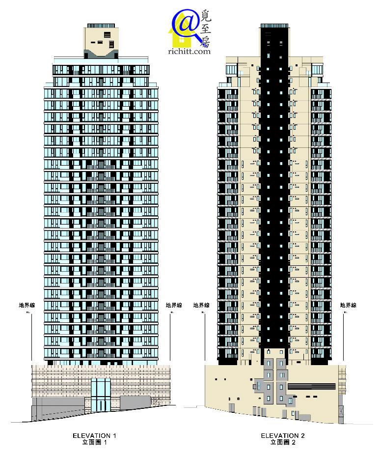 壹鑾立面圖1&2