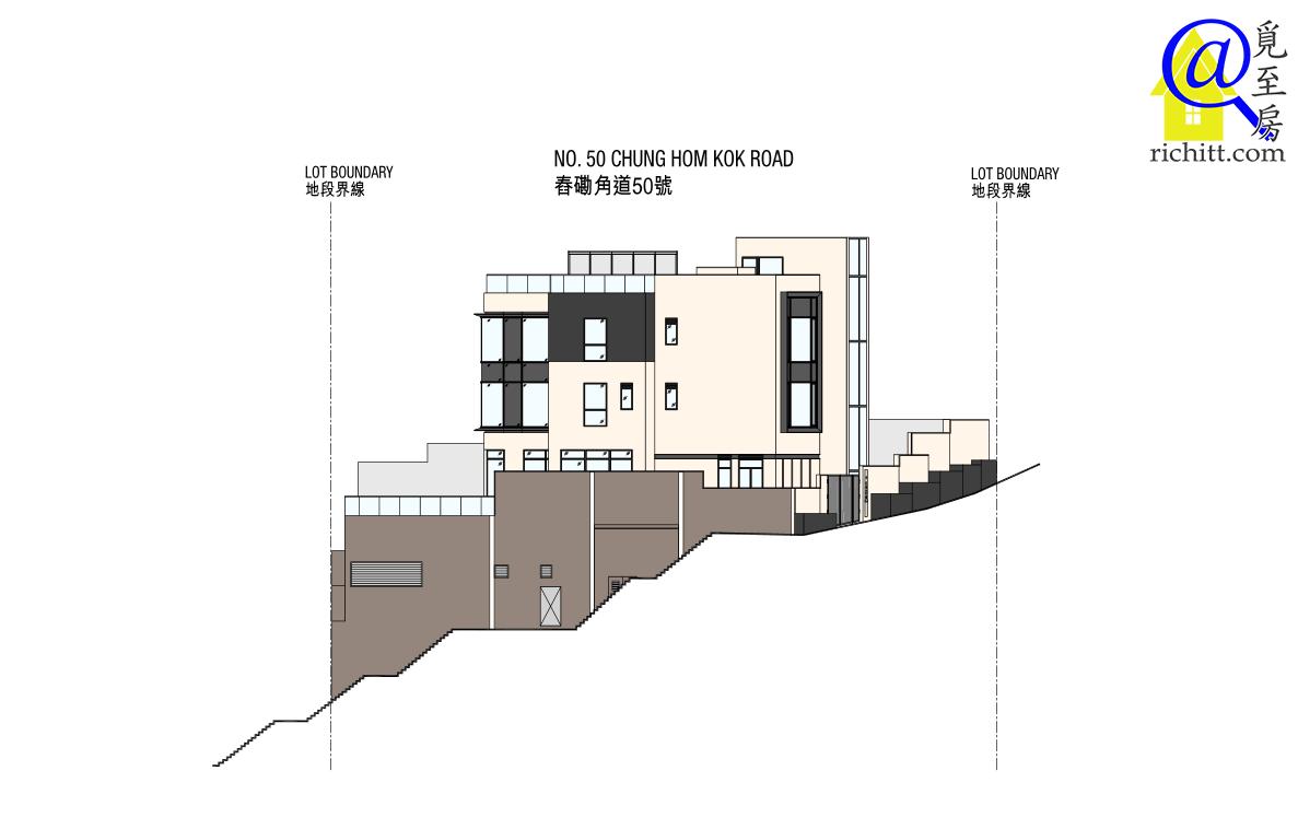 舂磡角道洋房項目立面圖2