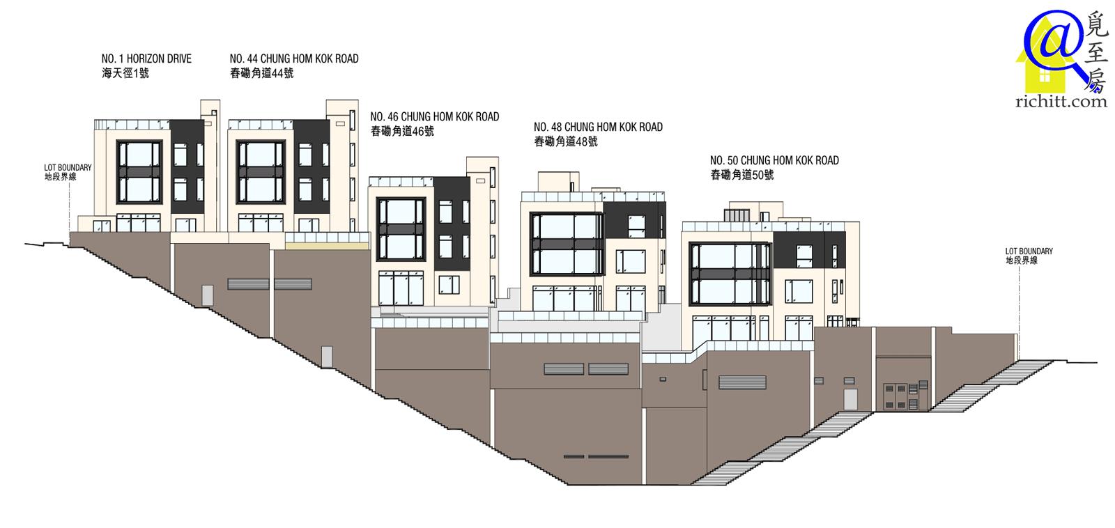 舂磡角道洋房項目立面圖3