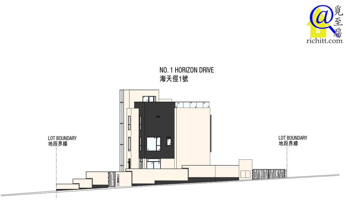 舂磡角道洋房項目立面圖4