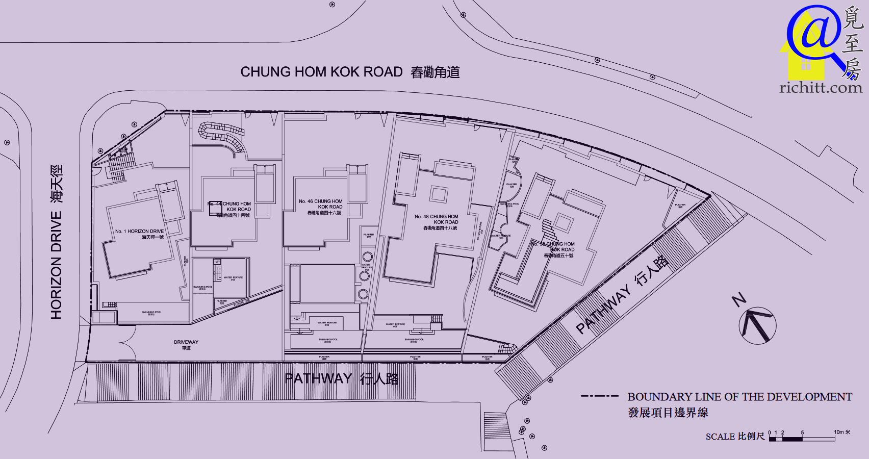 舂磡角道洋房項目布局圖