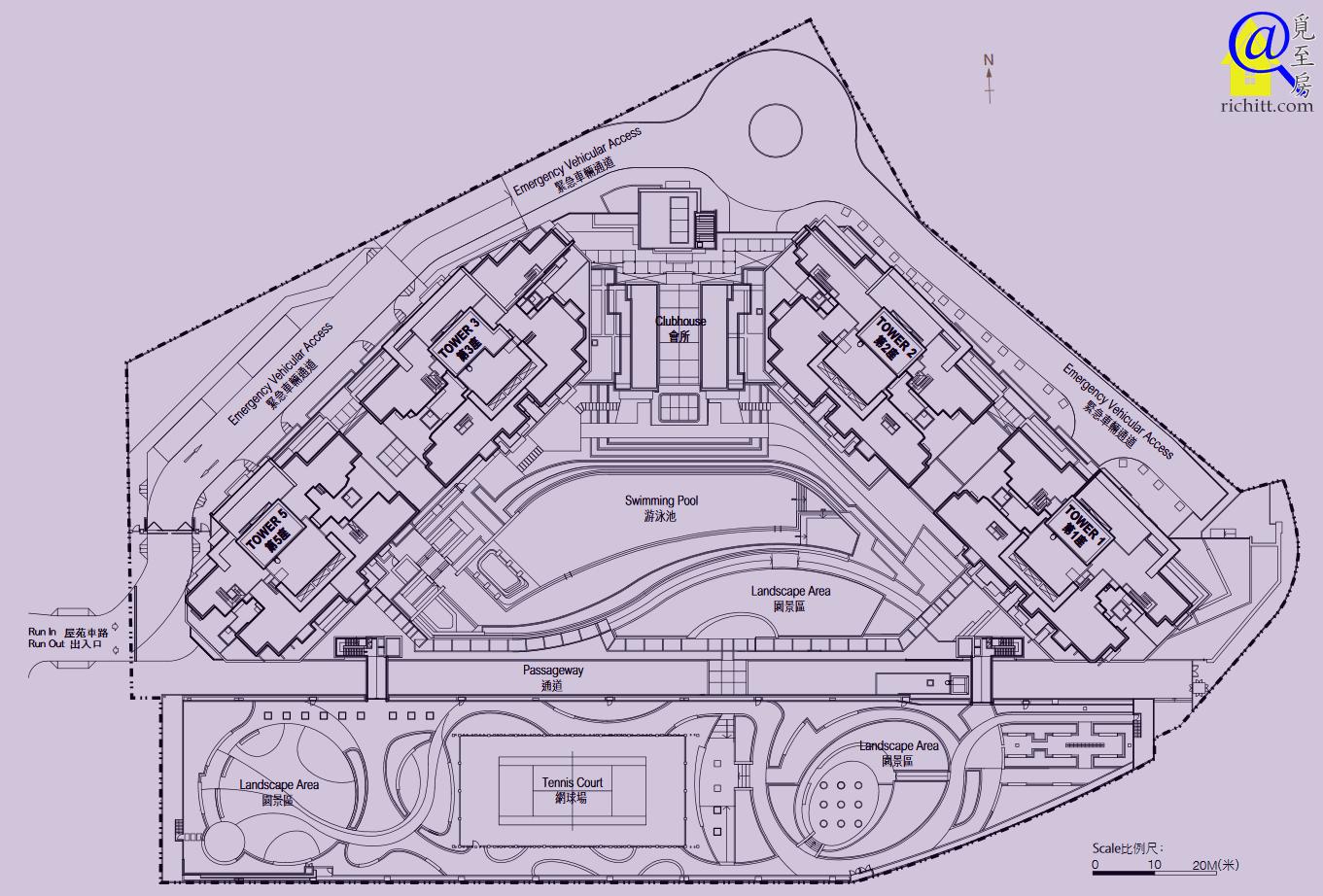 溱岸8號布局圖