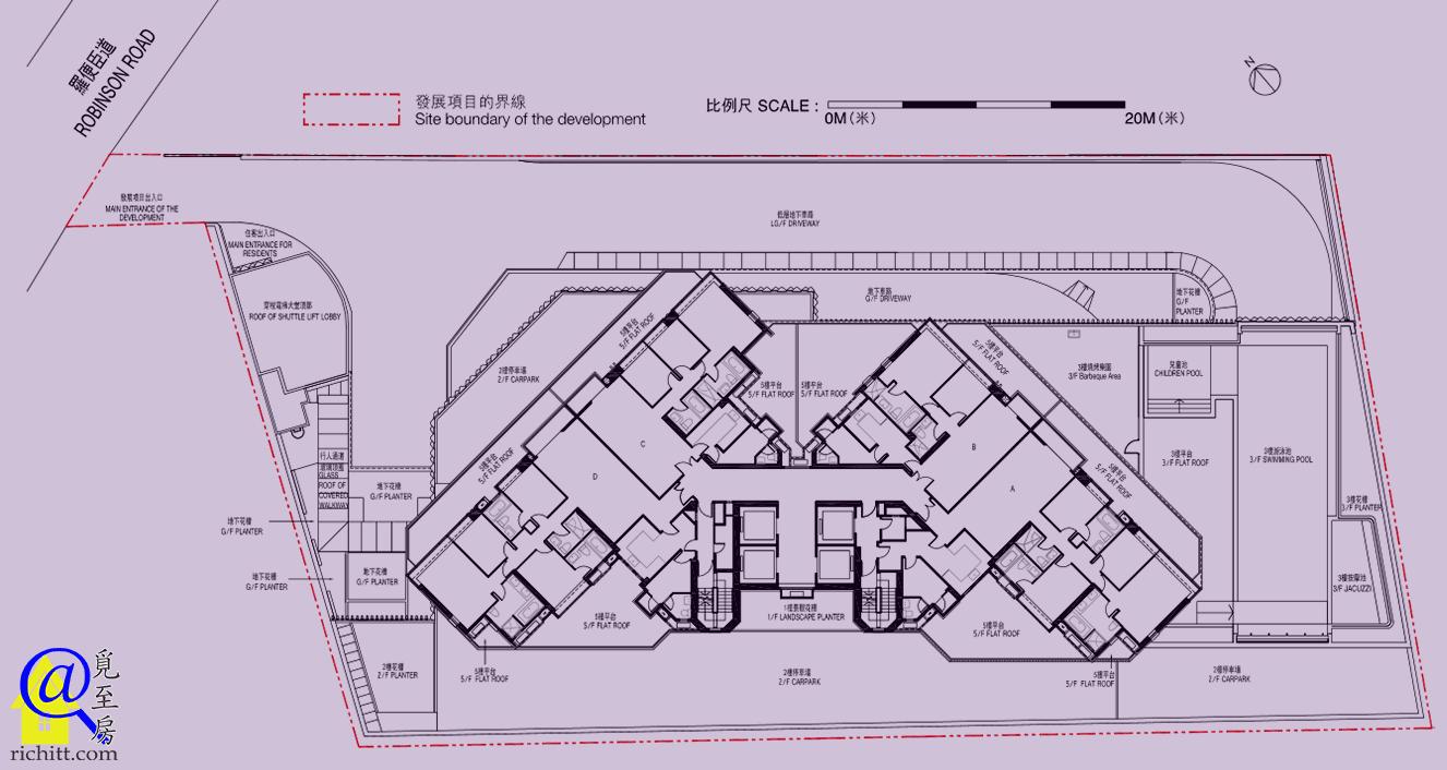 帝滙豪庭布局圖