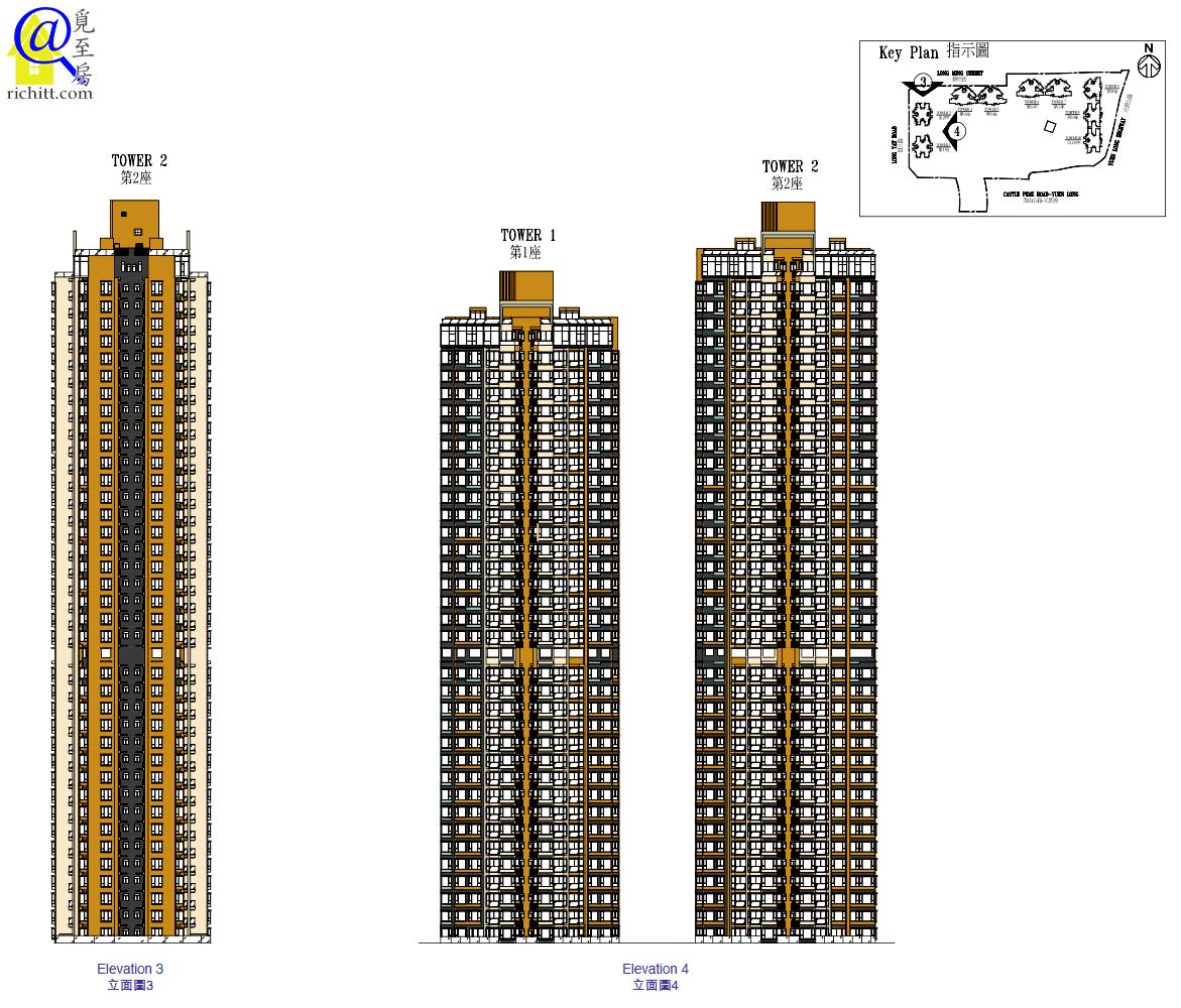 Grand YOHO立面圖 3及4