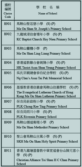 小學89校網學校名單