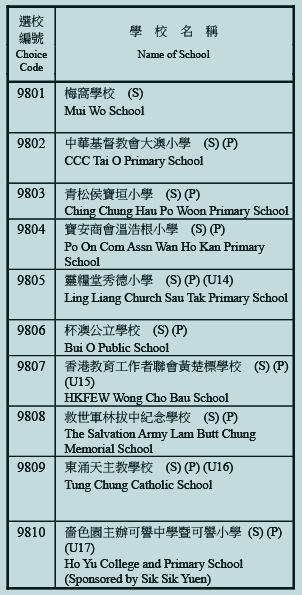 小學98校網學校名單