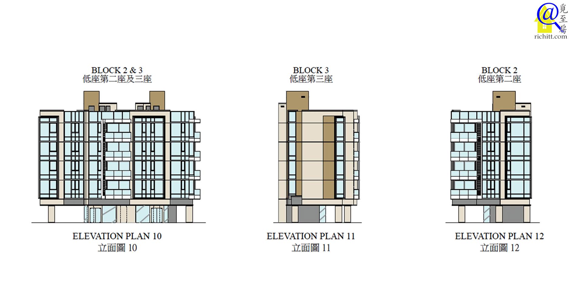 啟德1號立面圖10至12