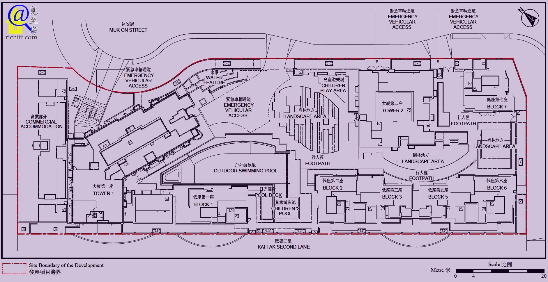 啟德1號布局圖