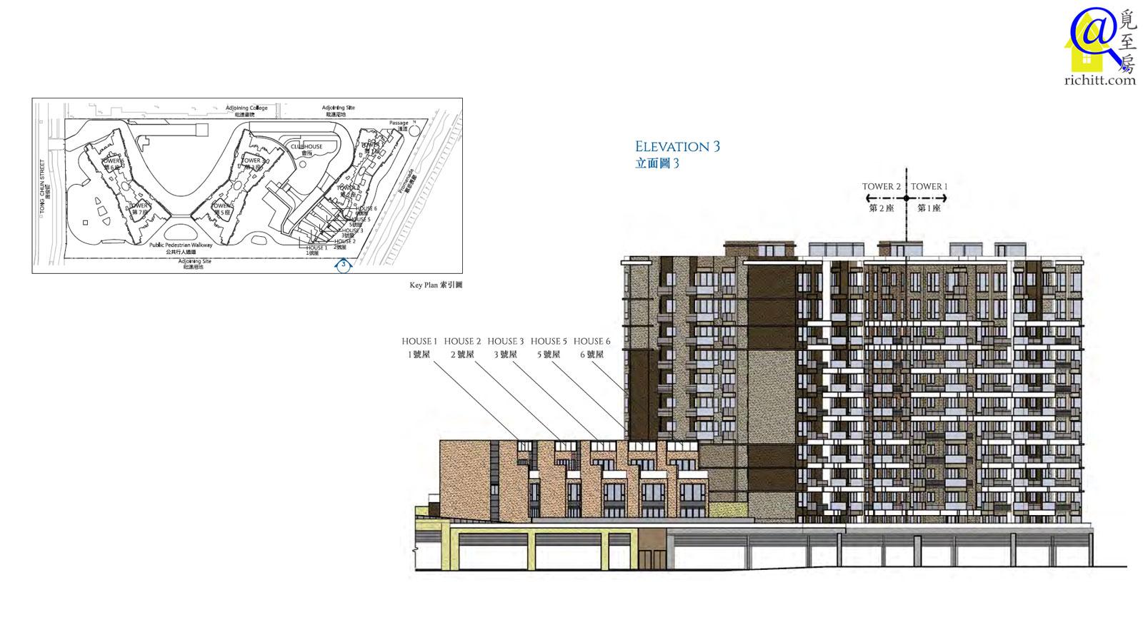 海翩滙住宅大廈立面圖3