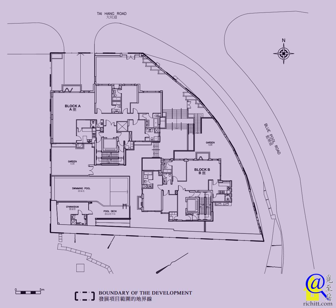 339 TAI HANG ROAD布局圖