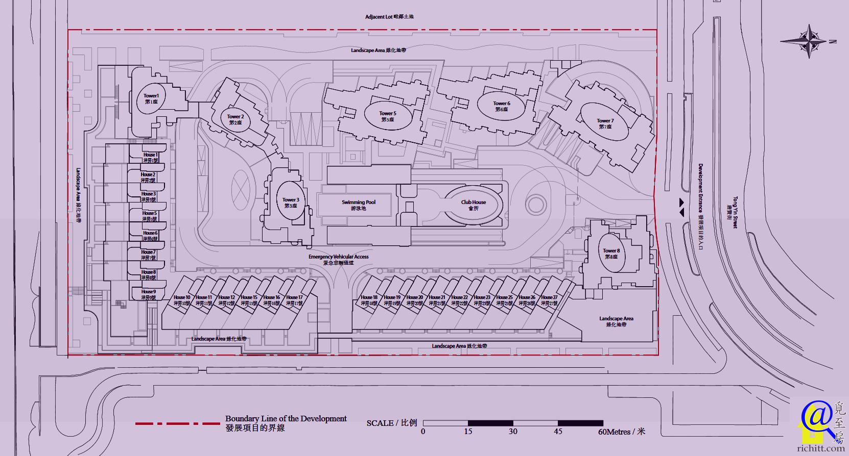 藍塘傲布局圖