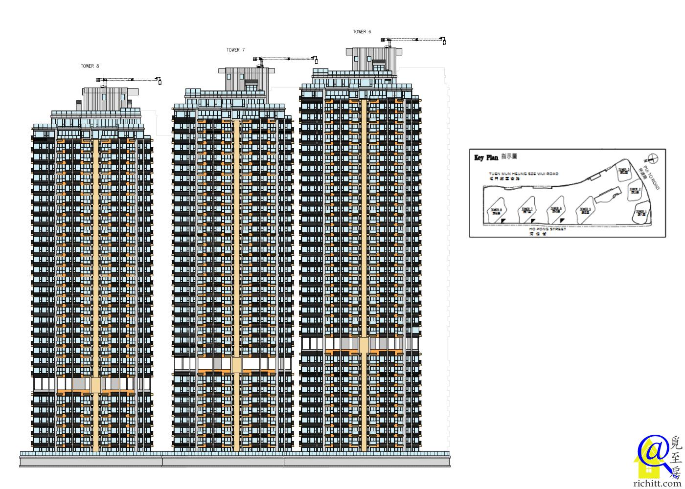 瓏門第二期立面圖1