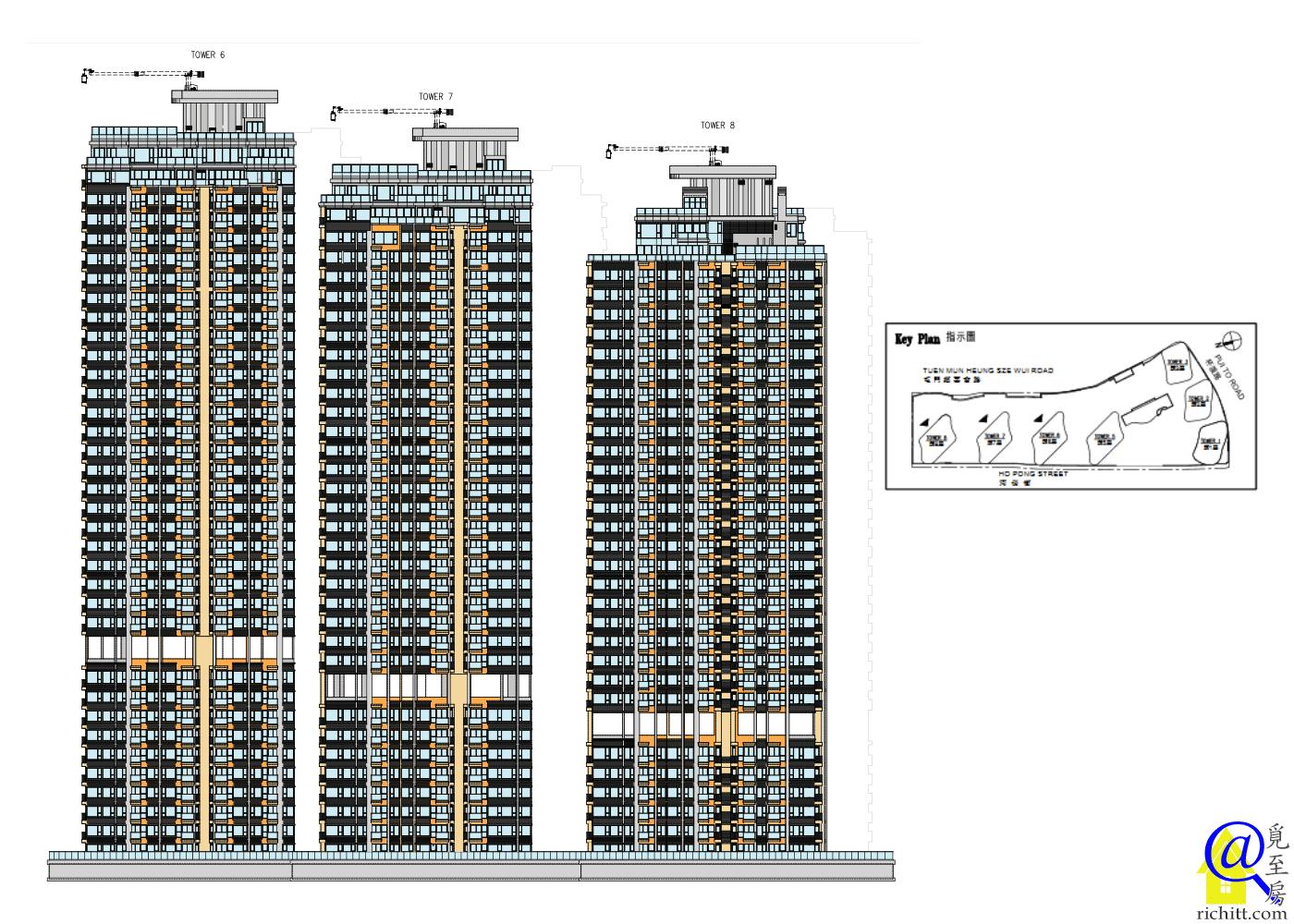 瓏門第二期立面圖3