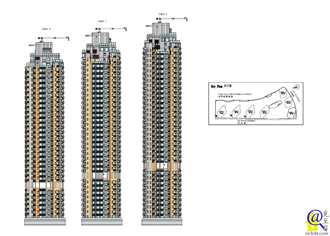 瓏門第二期立面圖4