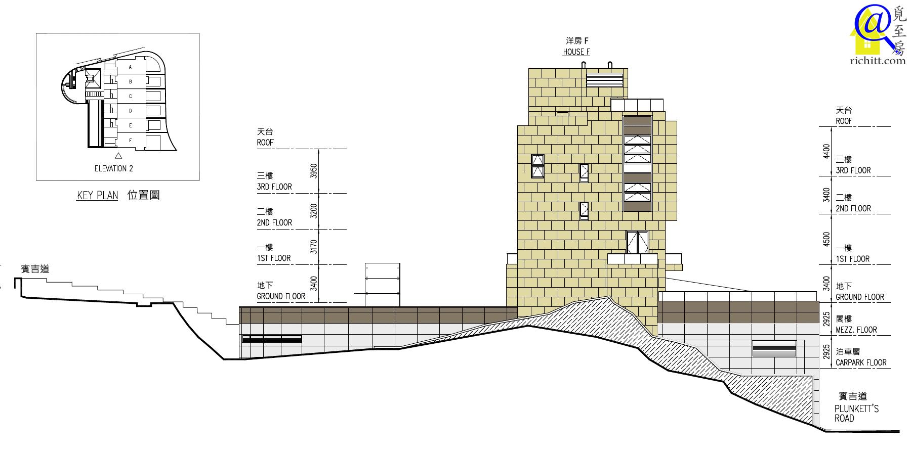 賓吉道3號立面圖2