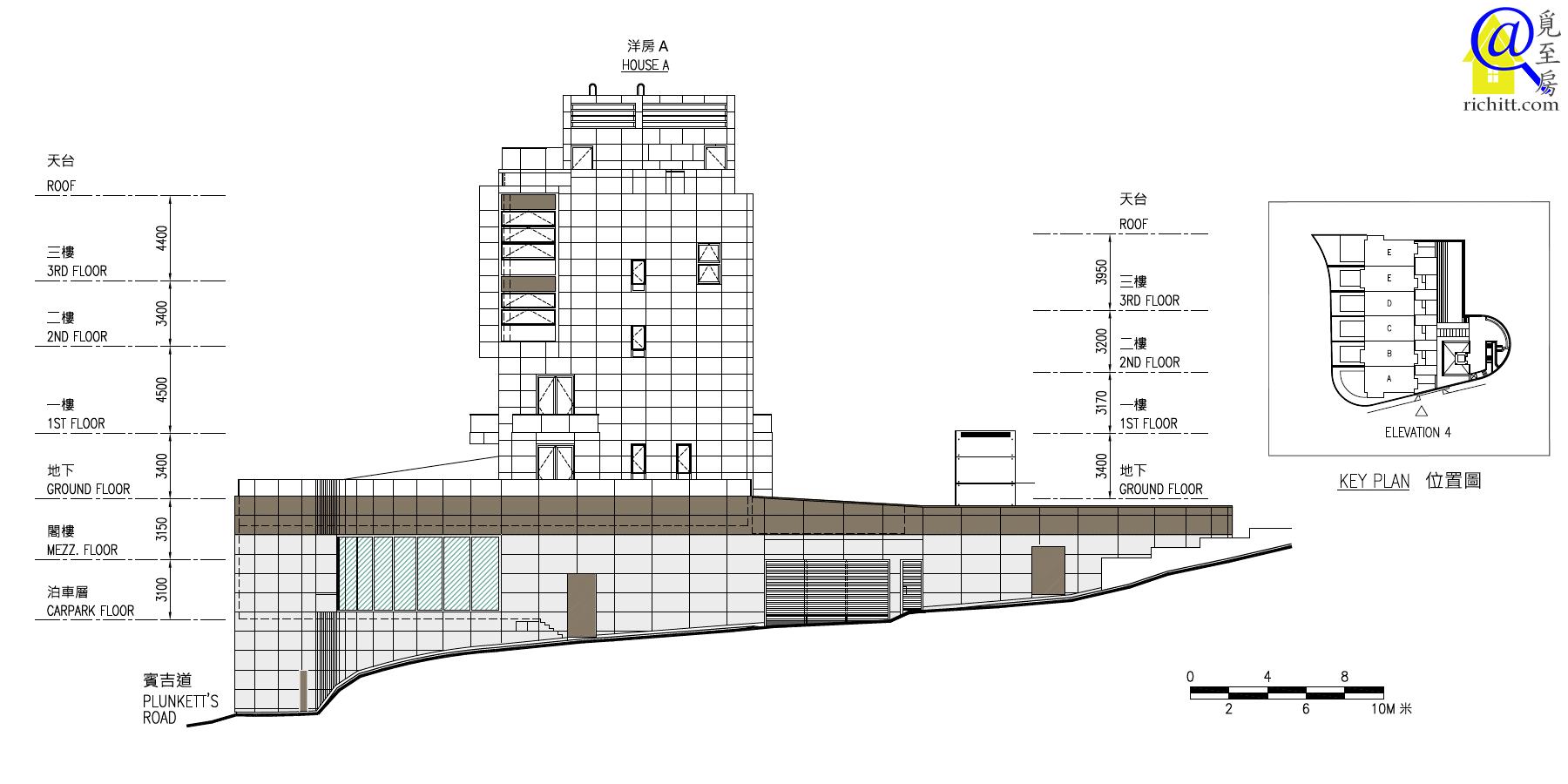 賓吉道3號立面圖4