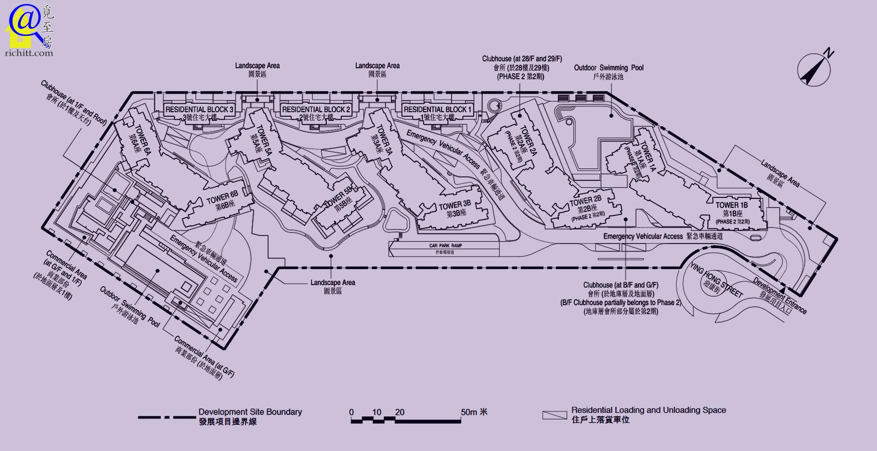 東環布局圖