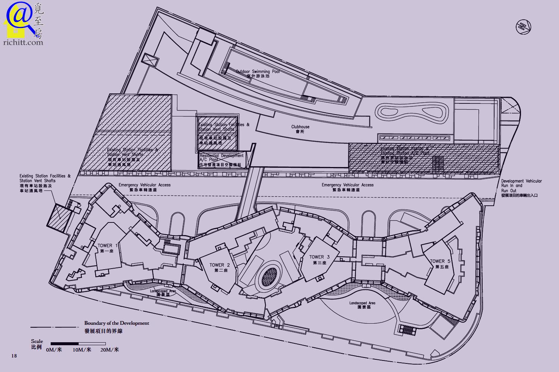 GRAND AUSTIN 布局圖
