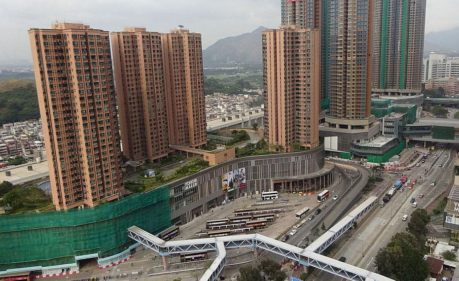 新元朗中心位置 - Ma Yipoa Shungie作品 (維基百科)