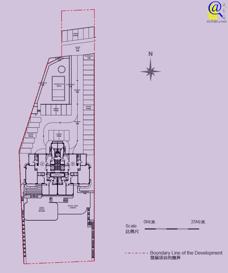 福慧大廈布局圖