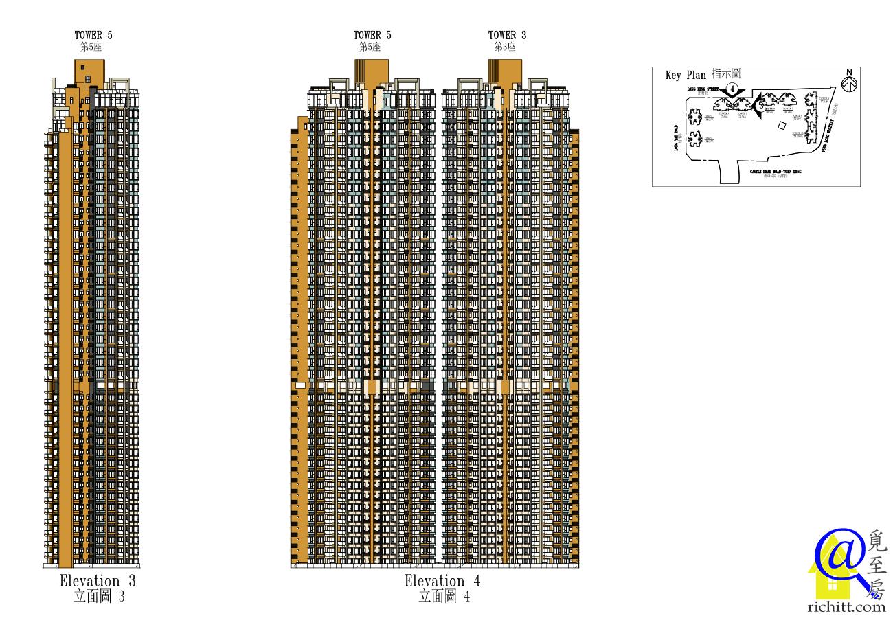 Grand YOHO第2期立面圖3及4