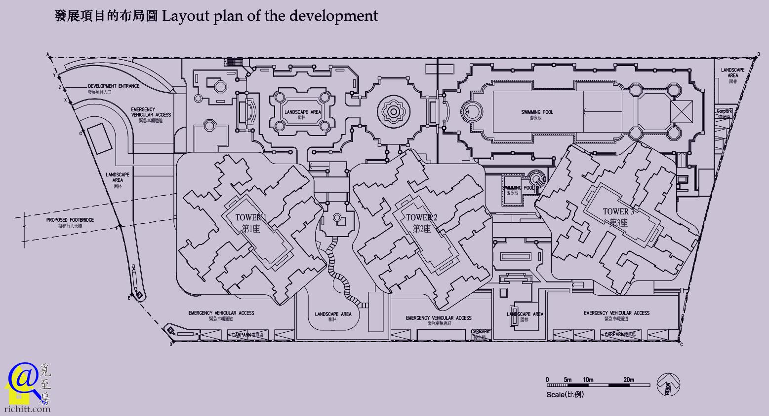 峻瀅II布局圖