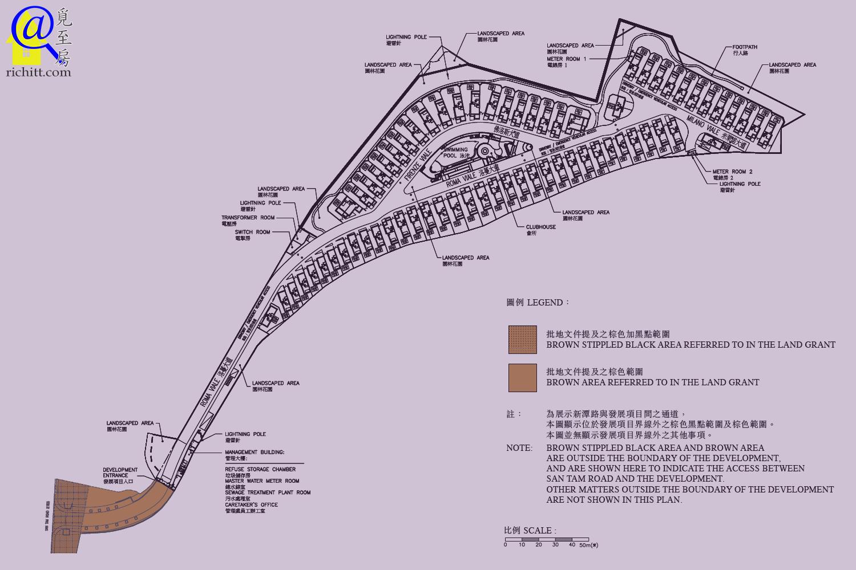 意花園布局圖