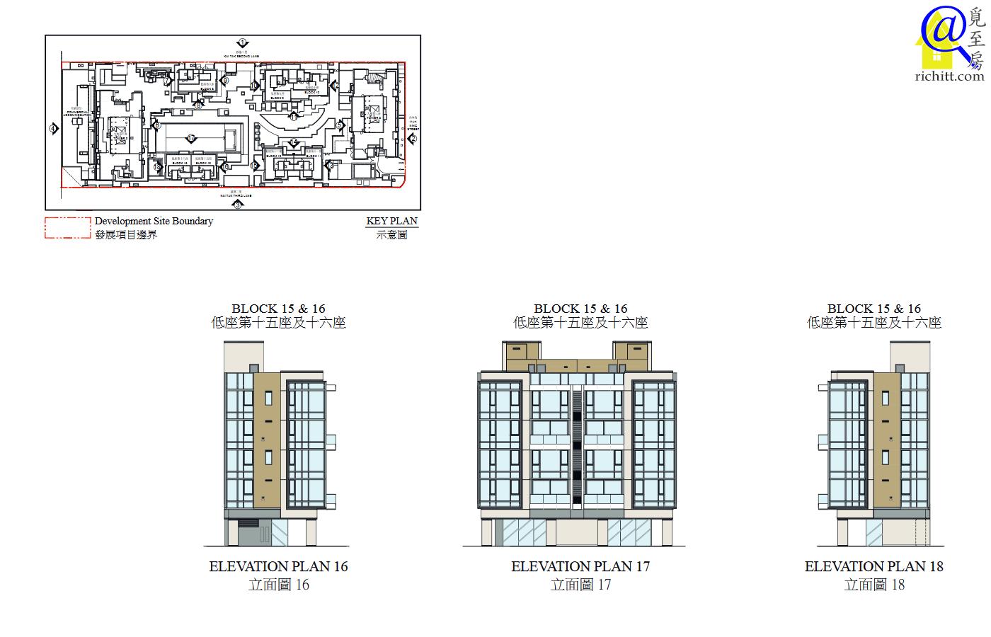 啟德1號(II)立面圖16至18