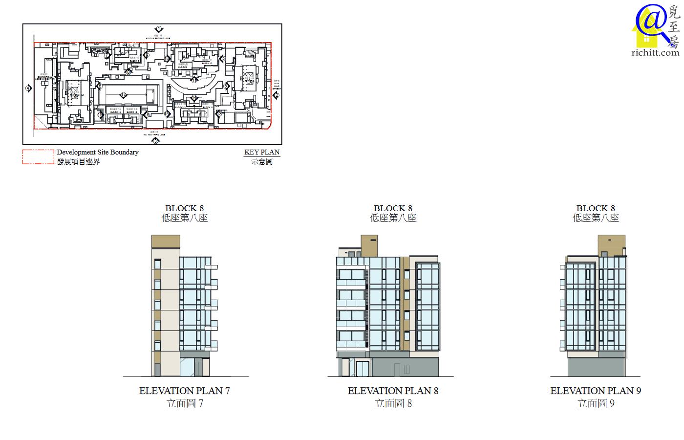 啟德1號(II)立面圖7至9