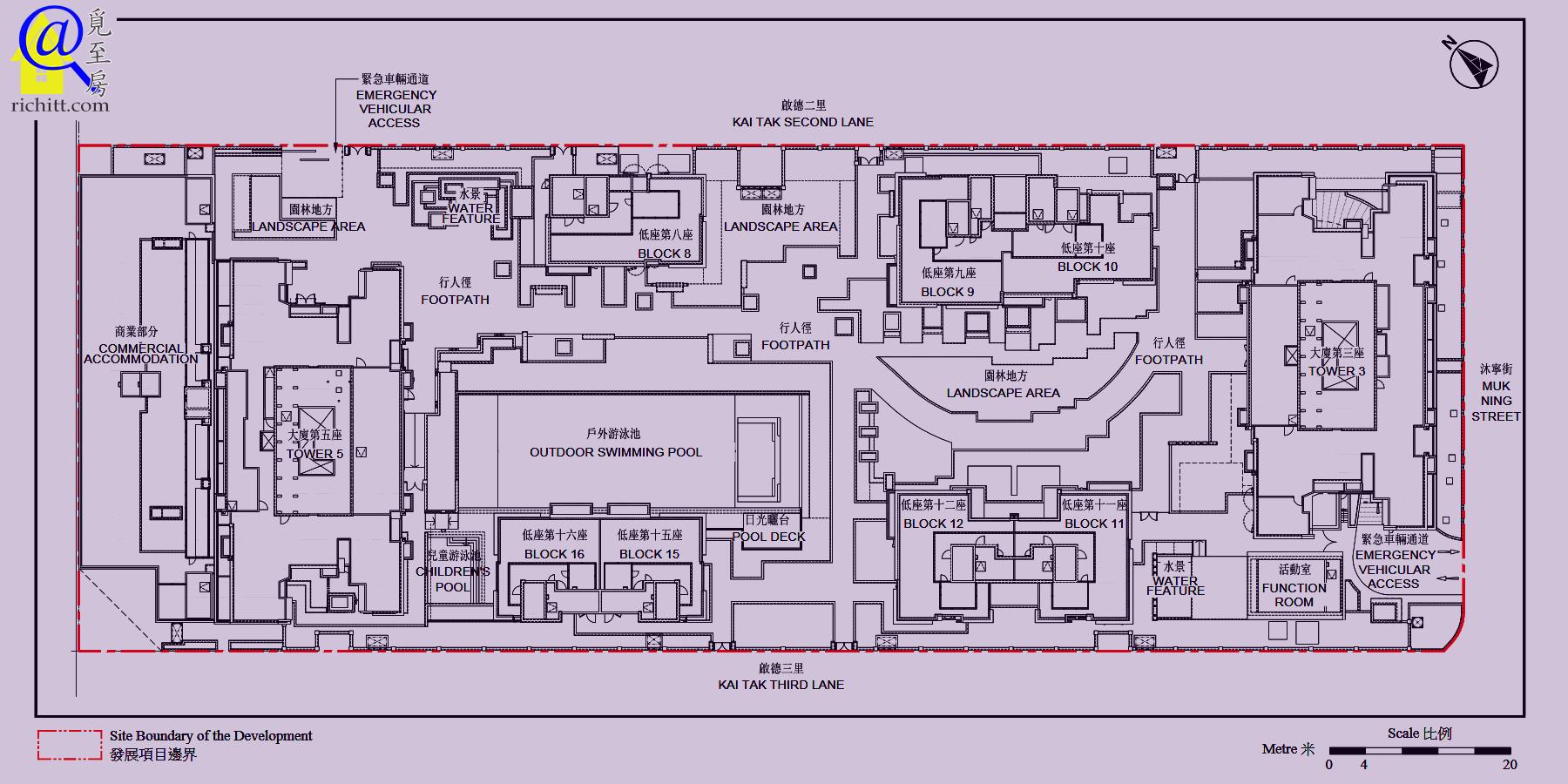 啟德1號(II)布局圖