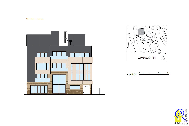 皇廷匯立面圖1