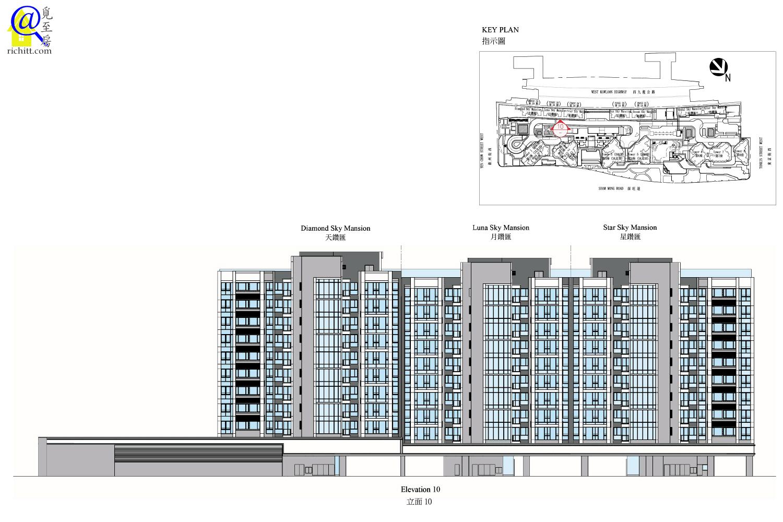 低座大樓立面圖2