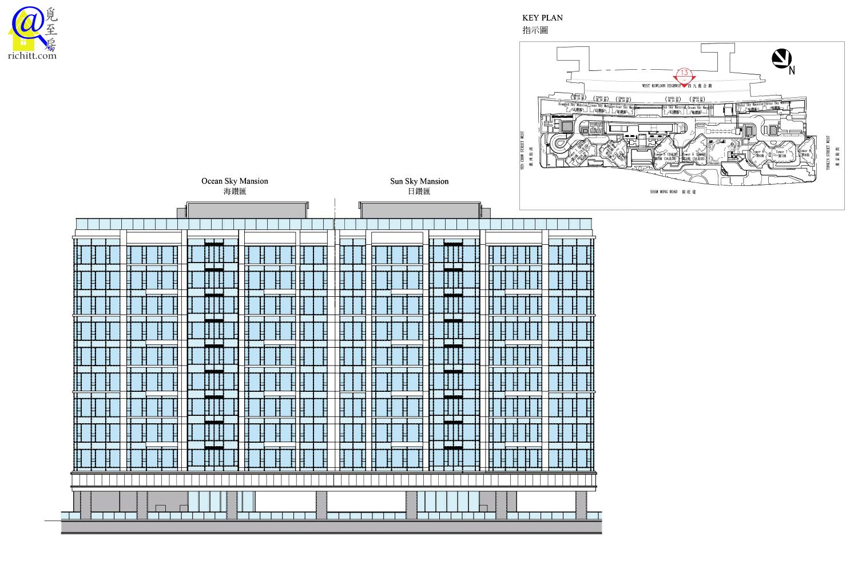 低座大樓立面圖3
