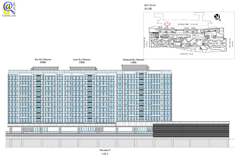 低座大樓立面圖1