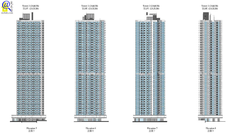 高座大廈立面圖2