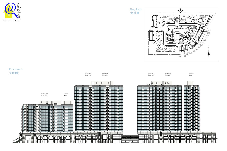 MONTEREY大樓立面圖1