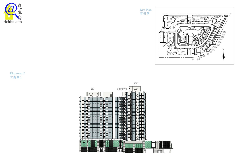 MONTEREY大樓立面圖2