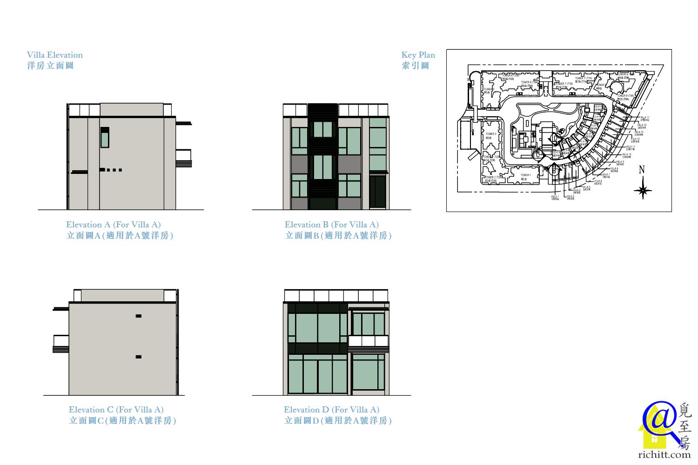 MONTEREY洋房立面圖2