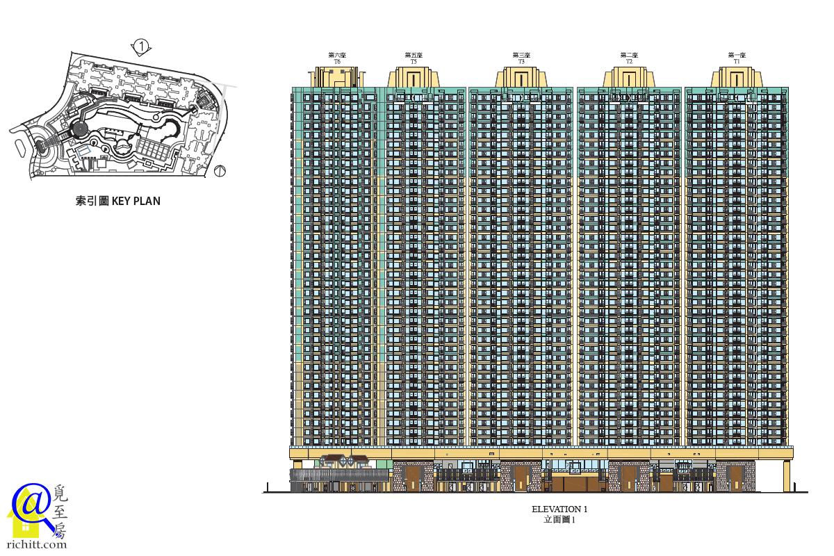 峻瀅立面圖1