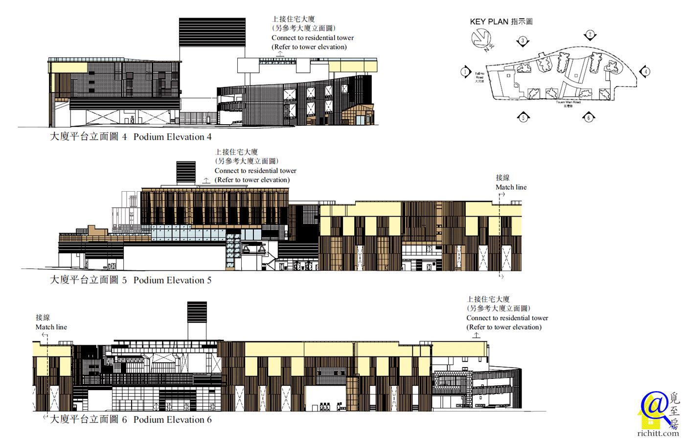 海之戀平台立面圖4至6